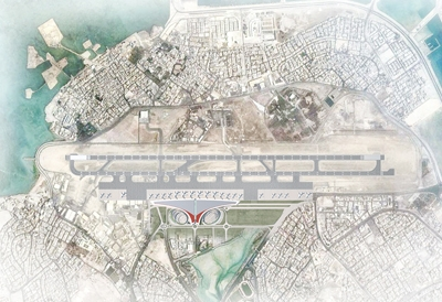 Enlargement of Manama International Airport